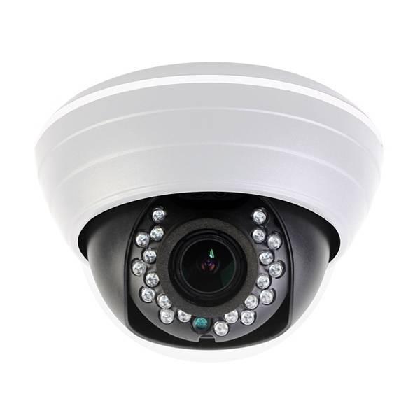 AHD видеокамера купольная PRAXIS PP-7111AHD 2.8-12