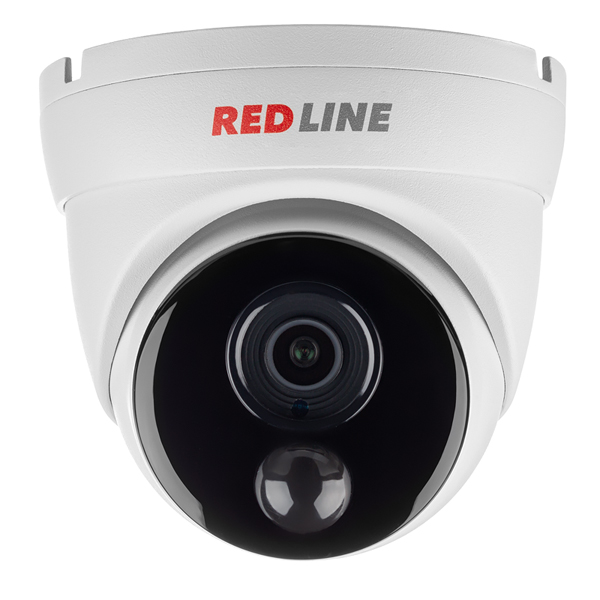 MHD-видеокамера антивандальная REDLINE RL-AHD1080P-MC-PIR