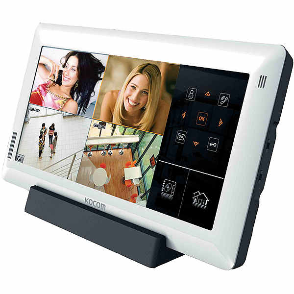 Монитор видеодомофона KOCOM KCV-A510R white