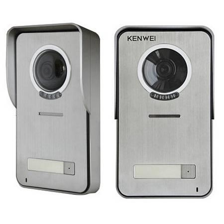 Блок вызова видеодомофона KENWEI KW-S201C-2B-600TVL с козырьком