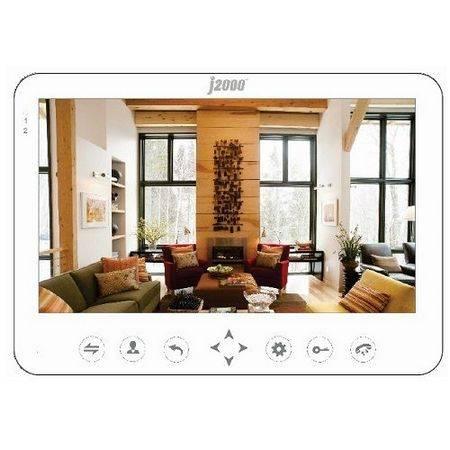 Монитор видеодомофона J2000-DF-АВРОРА (белый)