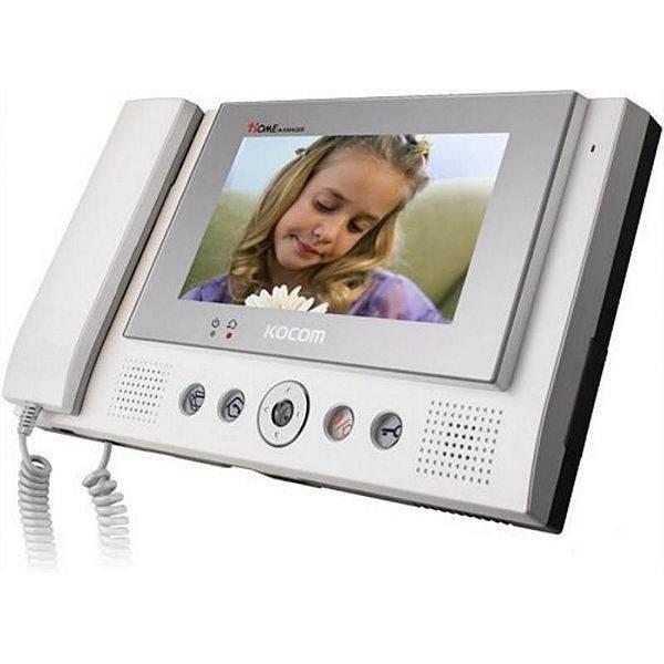 Монитор видеодомофона KOCOM KCV-801 EV