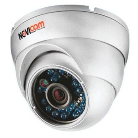 IP-камера купольная NOVICAM IP N12W