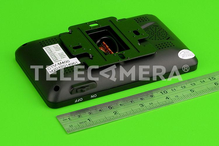Монитор видеодомофона CTV-M400 B черный