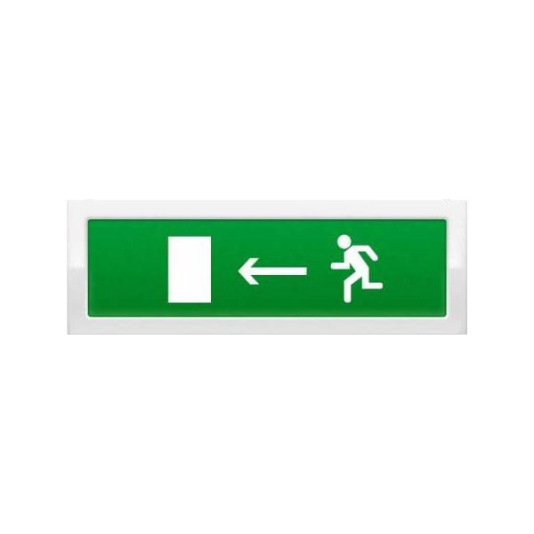 Оповещатель световой Рубеж ОПОП 1-8 «Бегущий человек + стрелка влево» 12 В