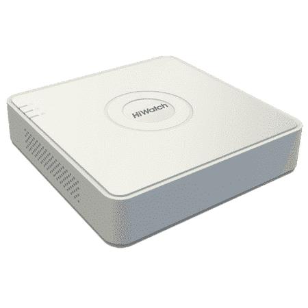 HD-TVI видеорегистратор 4-канальный гибридный HiWatch DS-H104Q