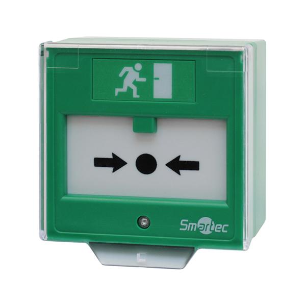Устройство разблокировки двери SMARTEC ST-ER125D-GN с восстанавливаемой вставкой