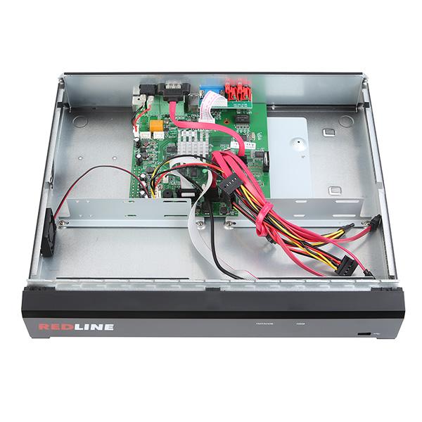 IP видеорегистратор 16-канальный REDLINE RL-NVR16C-4H