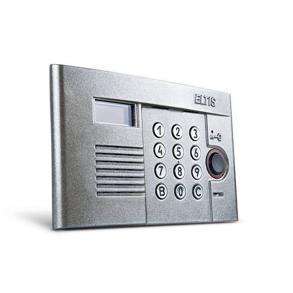 """Блок вызова ELTIS DP303-RDC16 (9007), """"серебро"""""""