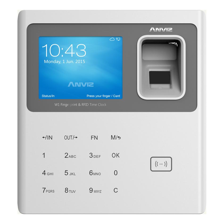 Терминал биометрический учета рабочего времени Anviz W1-ID