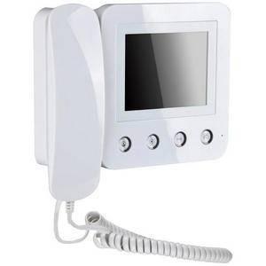 Монитор видеодомофона KW-E400FC белый