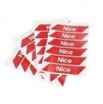 Наклейки светоотражающие (комплект) NICE NK1