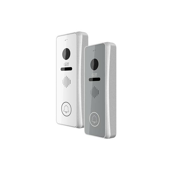 Вызывная панель видеодомофона Full HD сенсорная CTV-D4001FHD серебро