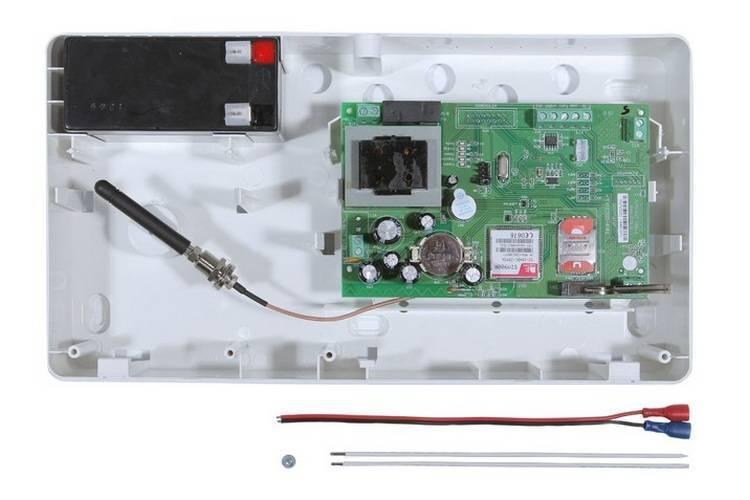 """Охранно-пожарная панель РИТМ """"Контакт GSM-10 А"""" с внешней GSM антенной"""