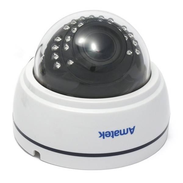 AHD видеокамера купольная AMATEK AC-AD102V