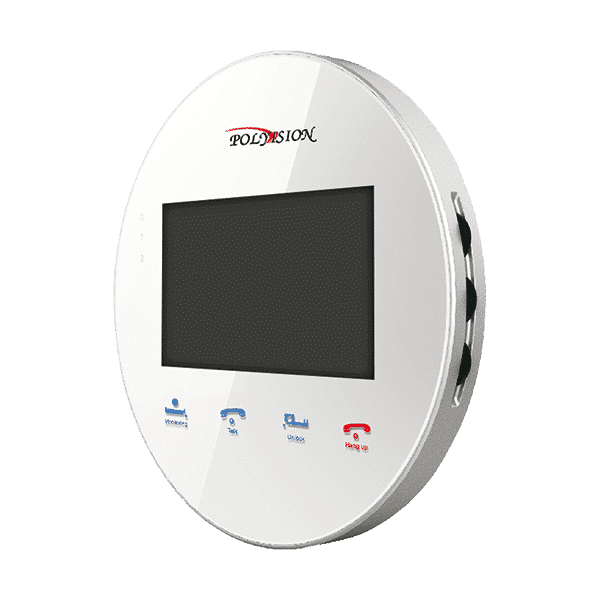 Монитор видеодомофона POLYVISION PVD-4S v.5.3 белый