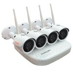 Комплект Wi-Fi IP видеорегистратора и Wi-Fi видеокамер NOVICAM WIFI KIT 1204