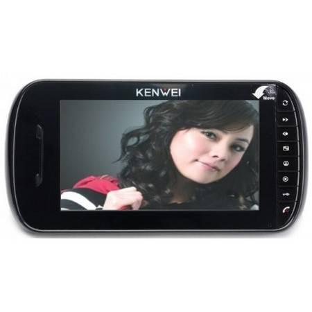 Монитор видеодомофона KENWEI KW-E703C black Vizit