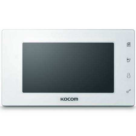 Монитор видеодомофона KOCOM KCV-544 белый