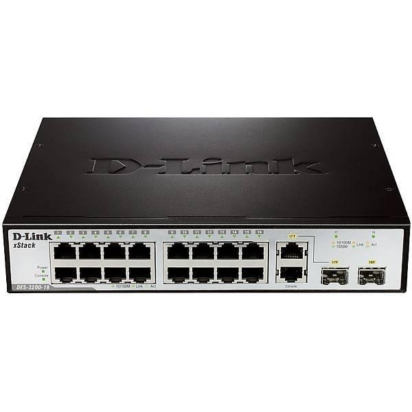 Коммутатор D-Link DES-3200-18/B1A