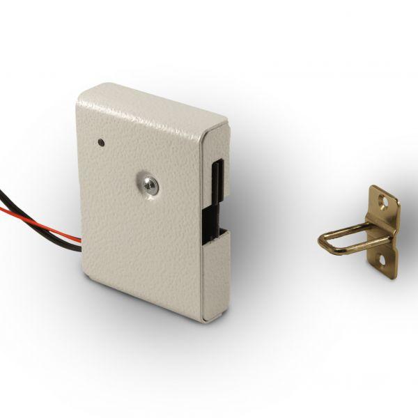 Замок электромеханический Promix-SM308.10 (Шериф-8) НЗ белый
