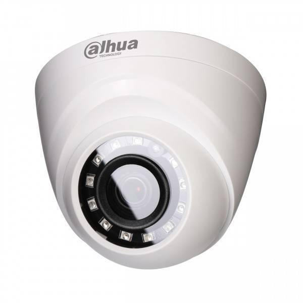 MHD видеокамера купольная DAHUA DH-HAC-HDW1200RP-0360B-S3