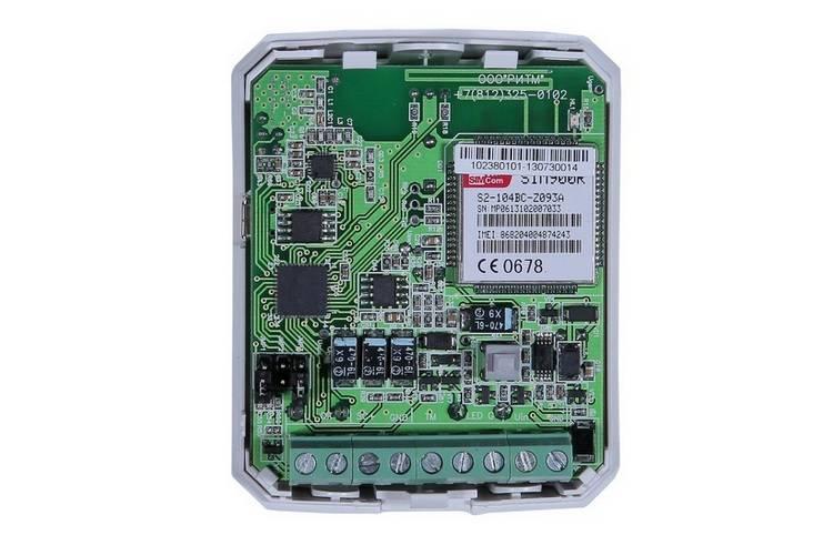 Охранная панель РИТМ Контакт GSM-2