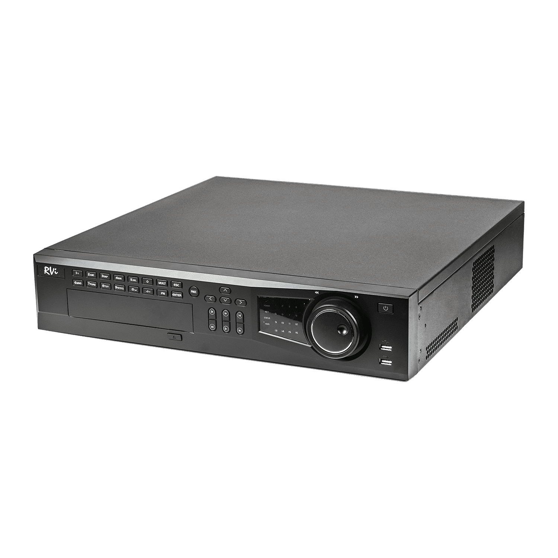 IP-видеорегистратор 16-ти канальный RVI-IPN16/8-4K
