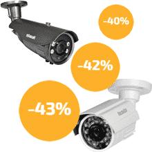 Снижение цен на AHD видеокамеры FALCON EYE