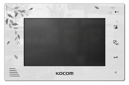 Монитор видеодомофона KOCOM KCV-A374SD LE-4 белый