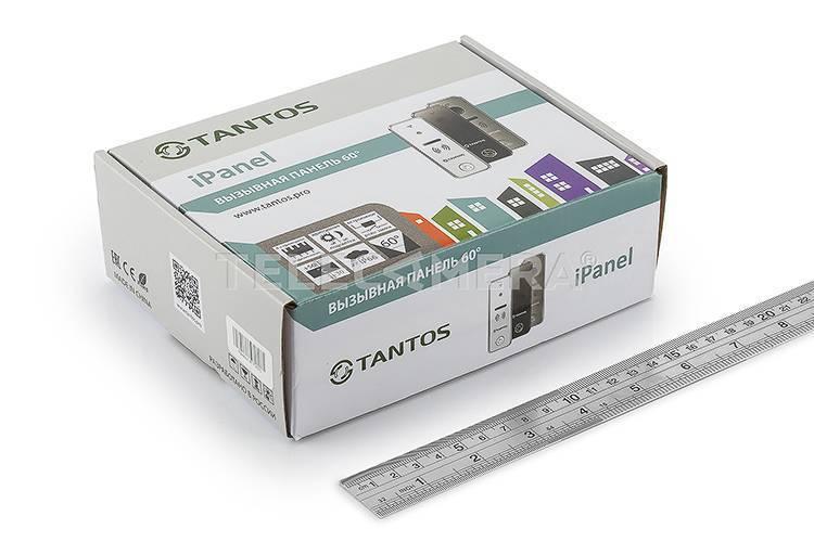 Вызывная панель TANTOS iPanel 1 (Metal)