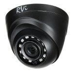 MHD-видеокамера купольная RVi-1ACE100 (2.8) black
