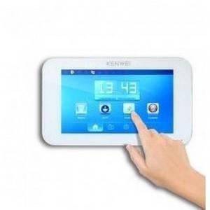 Монитор видеодомофона KENWEI KW-E709TC белый