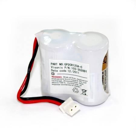 Блок батареек Visonic 2GPCR123A Pack2