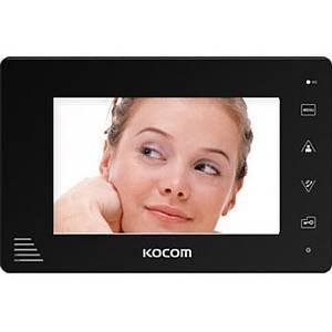 Монитор видеодомофона KOCOM KCV-A374SD-4 черный