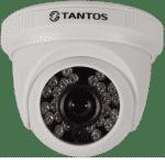 AHD видеокамера купольная TANTOS TSc-EBecof (3.6)