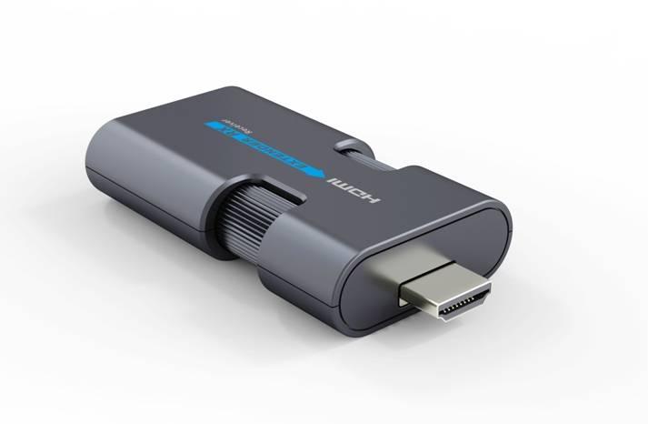 Передача HDMI по витой паре LENKENG LKV372mini