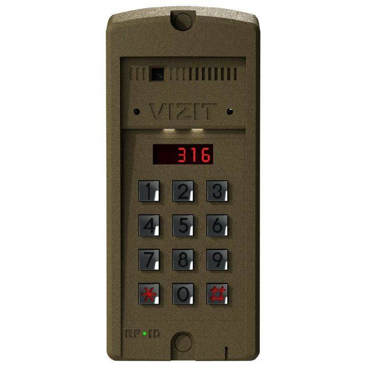 Блок вызова видеодомофона VIZIT БВД-316FCP