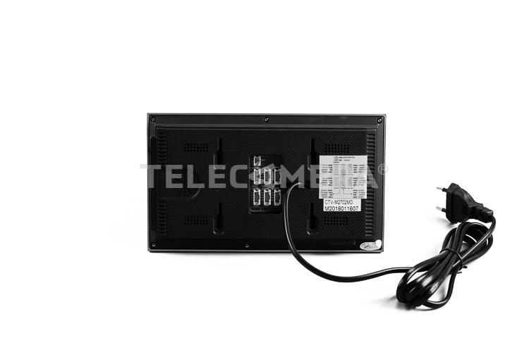 Комплект видеодомофона CTV-DP2702MD B черный