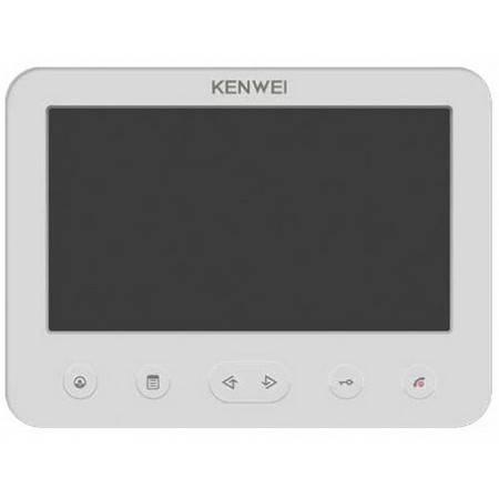 Монитор видеодомофона KENWEI KW-E706FC white Coordinate