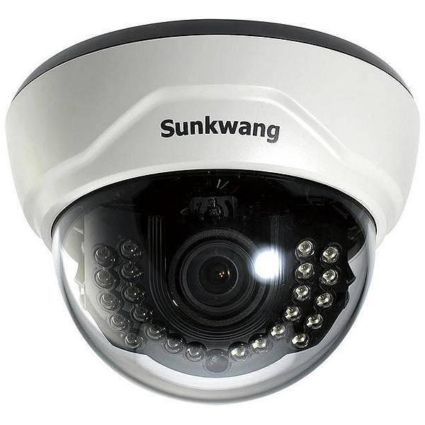 Видеокамера купольная SUNKWANG SK-D300IRD/M556AIP (2,8-12) ICR
