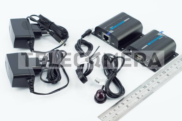 """Передача HDMI по """"витой паре"""", обратный IR LENKENG LKV372A"""