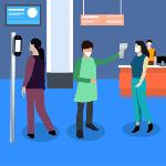 Дистанционное измерение температуры тела: контроль сотрудников и посетителей