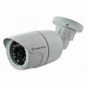 AHD видеокамера уличная TANTOS TSc-P960pAHDf (3.6)