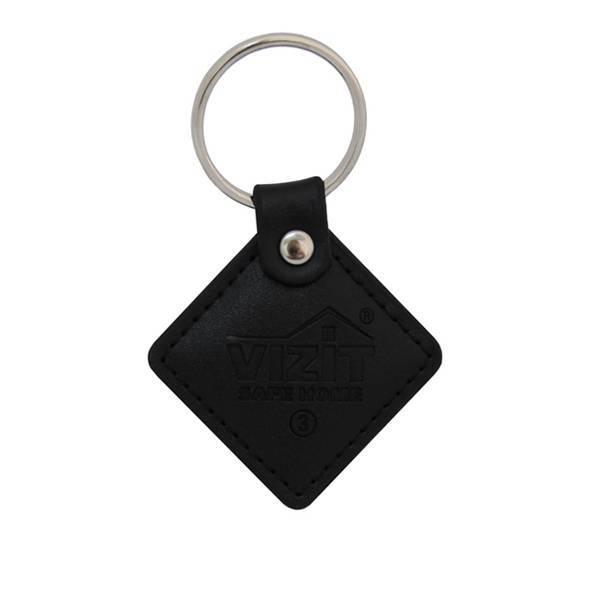 Ключ VIZIT-RF3.2 (RFID-13.56 MHz брелок Mifare) черный