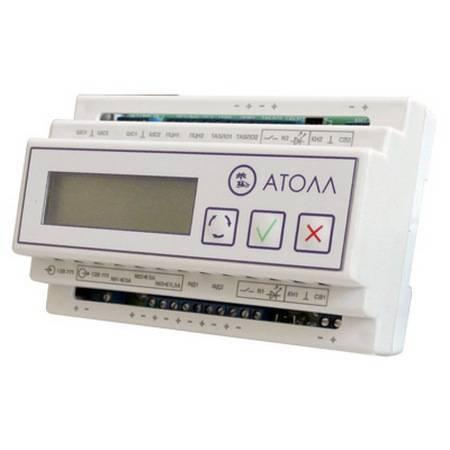 Контроллер интеллектуального управления освещением Бастион АТОЛЛ-LED-DIN