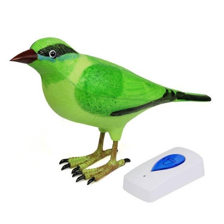 Дверной звонок беспроводной TANTOS Птичка