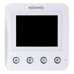 Монитор видеодомофона KW-E401FC белый