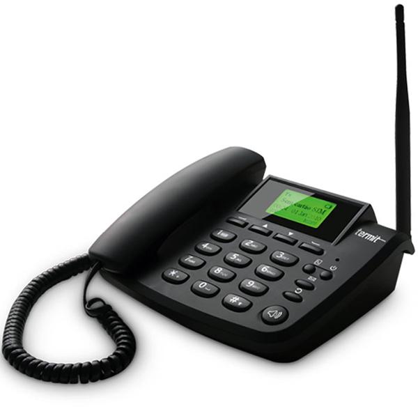 Стационарный сотовый телефон TERMIT FixPhone v2 rev4, черный