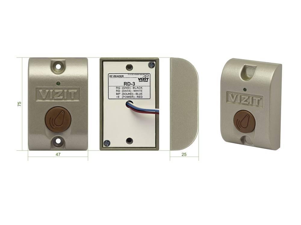 Контроллер ключей VIZIT-КТМ602R